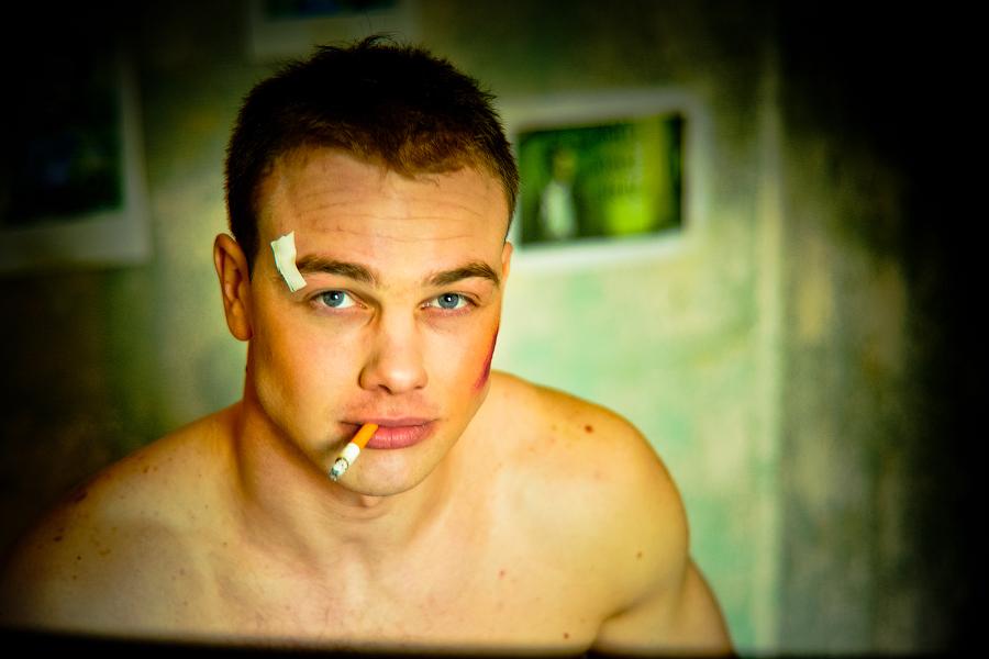 Фотосессия в Москве постановочная бойцовский клуб
