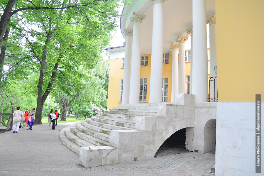 Места для съемок: усадьба Дурасова в Люблино фотограф в Москве