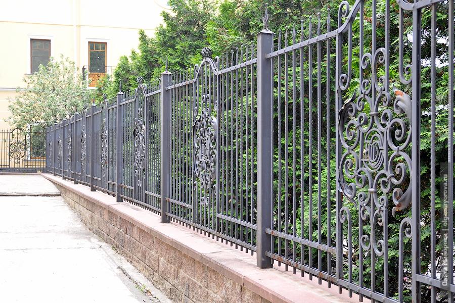 Места для съемок: усадьба Дурасова в Люблино забор красивый