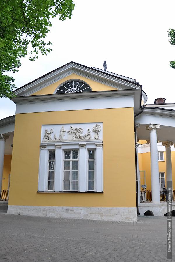 Места для съемок: усадьба Дурасова в Люблино усадебный дом