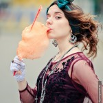 Отчаянно ищу Сьюзан Desperately Seeking Susan постановочное фото Парк Горького сладкая вата