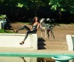 Фотосессия с собакой фэшн съемка на пленере в парке недорого