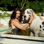 Фотосессия с собакой съемка собак на пленэре