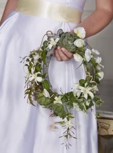 Венок невесты свадебные тенденции 2018