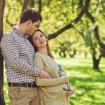 Романтичная беременная фотосессия лавстори в Москве фотограф недорого