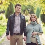 Фотосессия лав стори беременная с мужем на природе в Коломенском