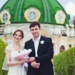 Свадебная прогулка в Кусково, Грот