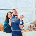 Студийная фотосъемка семьи с детьми москва