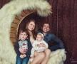 Семейная фотосъемка в студии москва портрет семьи с детьми