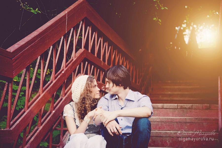 Фотосессия лавстори в Москве Коломенское love story