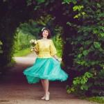 Лав стори фотосессия Анны и Валентина в Кусково летом