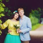Лав стори фотосессия Анны и Валентина в Кусково фотограф в москве ольга майорова недорого