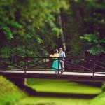Лав стори фотосессия Анны и Валентина в Кусково лавстори