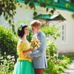 Лав стори фотосессия Анны и Валентина в Кусково lovestory couple love любовь лето взгляд объятия