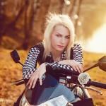 Открытие мотосезона 2014 в Орловском Москва фотограф Ольга Майорова девушки на мотоциклах