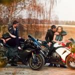 Открытие мотосезона 2014 в Орловском Москва фотограф Ольга Майорова девушки на мотоциклах лав стори фотосессия