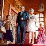 Свадьба, выездная церемония, во дворце Алексея Михайловича, Коломенское весной