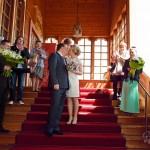 Свадьба, выездная церемония, во дворце Алексея Михайловича, Коломенское фото