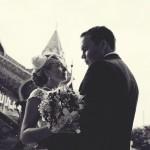Свадьба, выездная церемония, во дворце Алексея Михайловича, Коломенское фото дождь весна