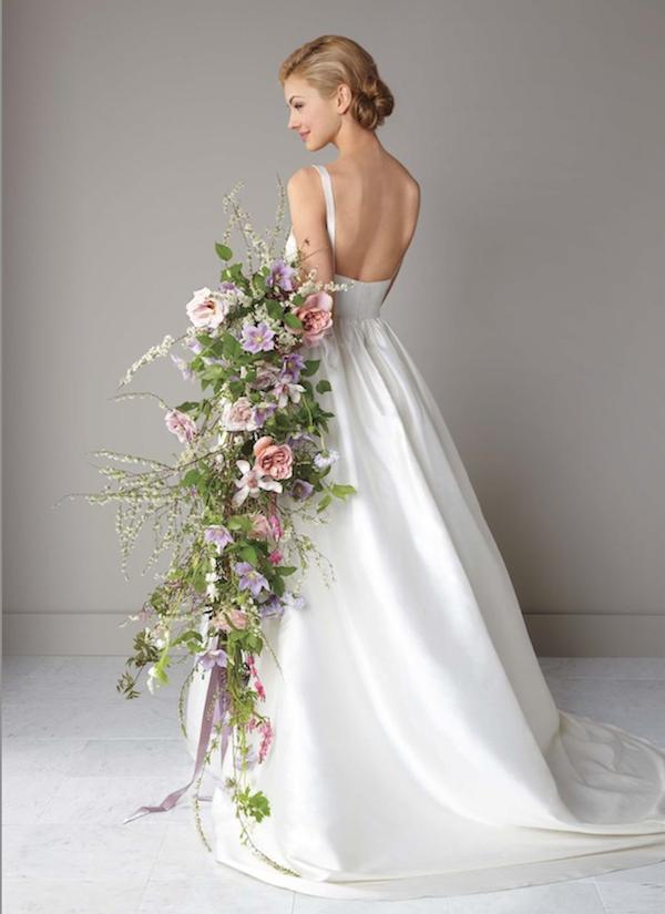 Свадебный букет модные тренды 2018